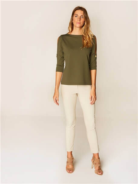 Tricot Blouse - 36923