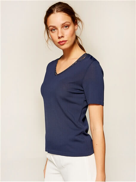 Tricot Blouse - 36928