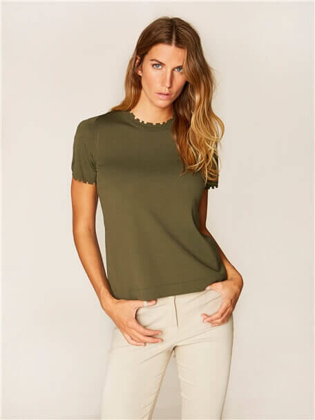 Tricot Blouse - 36932