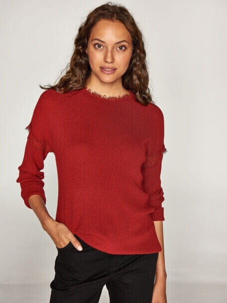 Tricot Blouse - 37921