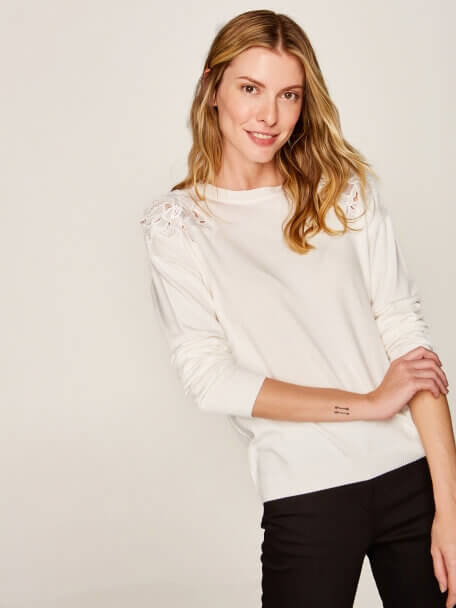 Tricot Blouse - 37923