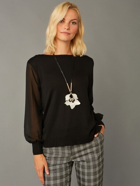 Tricot Blouse - 37955